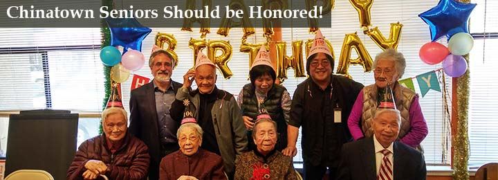chinatown seniors should be honored